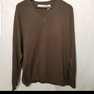 Paolo Mondo v neck cashmere sweater